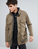 Abercrombie & Fitch Paratrooper M65 In Olive