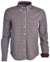 Gant Chemise à carreaux bordeaux Tartan pour femme