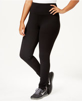 Style&Co. Style & Co. Sport Plus Size Tummy-Control Leggings, Only at Macy's