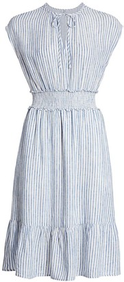 Rails Ashlyn Smocked Stripe Dress