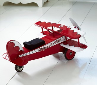 Pottery Barn Kids Red Airplane Ride-On
