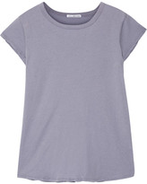 James Perse Brushed Cotton-jersey T-shirt - Lavender