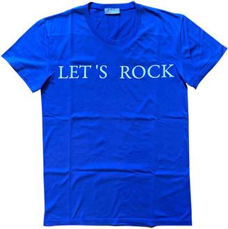Christian Dior Blue Cotton T-shirts