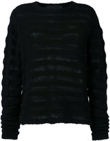 The Elder Statesman ribbed knit cashmere jumper - women - Cashmere - S