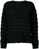The Elder Statesman ribbed knit cashmere jumper