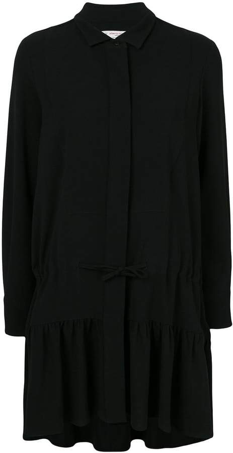 Alberto Biani drawstring waist dress