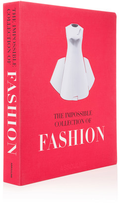 Assouline The Impossible Collection of Fashion Hardcover Book