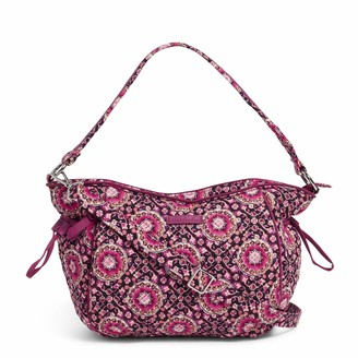 Vera Bradley Women's Signature Cotton Glenna Hobo Satchel Purse