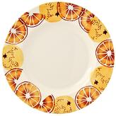 Emma Bridgewater Black Toast 'Oranges' Plate, Orange, Dia.28cm