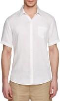 Zachary Prell Kaplan Regular Fit Short Sleeve Button Down Shirt