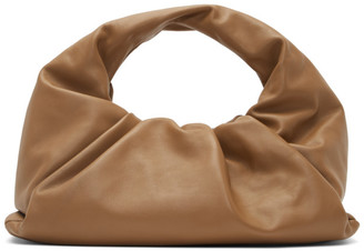 Bottega Veneta Tan Small Shoulder Pouch Bag