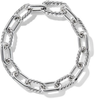 David Yurman sterling silver DY Madison small 8.5mm bracelet