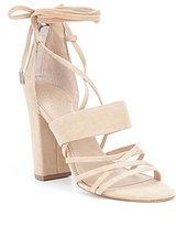 GUESS Conesa Faux Ankle Tie Dress Sandals