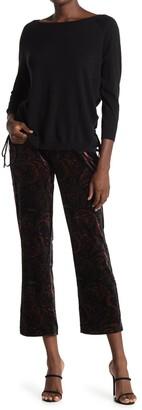 See U Soon Velvet Paisley Trousers