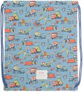 Cath Kidston Boys Drawstring Print Construction Bag