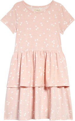 Tucker + Tate Kids' Polka Dot Tier Dress