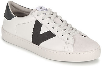 Victoria BERLIN PIEL CONTRASTE men's Shoes (Trainers) in White