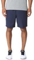 Lacoste Diamond Weave Taffeta Tennis Shorts