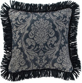 "Waterford Sinclair Indigo 18"" Square Deocrative Pillow"
