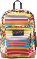 JanSport Cool Student Backpack in Multi Sunset Stripe