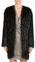 Lanvin Faux-Fur Coat