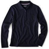 Izod Long-Sleeve Polo Shirt - Preschool Girls 4-6x