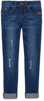 YMI Jeanswear Girls Wannabettafit Denim Skinny Stretch Skinny Fit Jean Big Kid