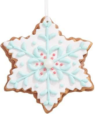 story. Glucksteinhome Storybook Snowflake Cookie Ornament