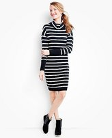 Women's Stripe Love Sweater Dress