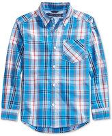 Tommy Hilfiger Ellison Plaid Shirt, Big Boys (8-20)