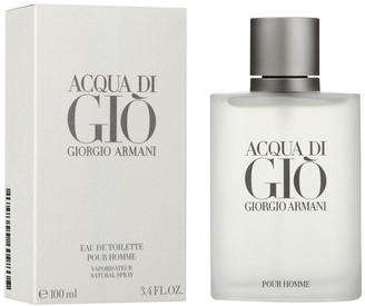 Giorgio Armani Men's Acqua Di Gio 3.4Oz Eau De Toilette Spray