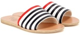 Ancient Greek Sandals Taygete Stripes leather sandals