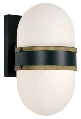 Crystorama Capsule Outdoor Wall Sconce