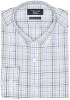 Original Penguin Blue Plaid Dress Shirt