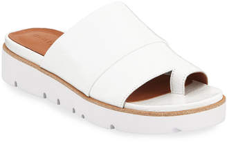 Gentle Souls Lavern Easy Patent Slide Sandals