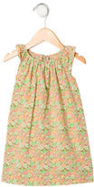 Bonpoint Girls' Floral Print Sleeveless Dress