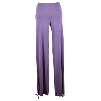 Jean Paul Gaultier Purple Cloth Trousers