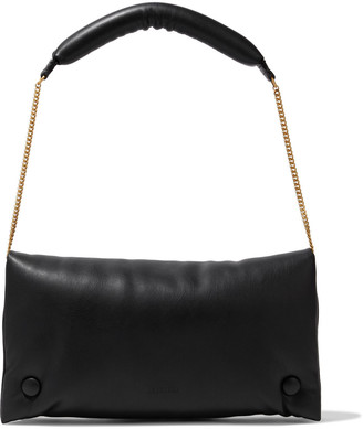 Nanushka Anjou Vegan Leather Shoulder Bag
