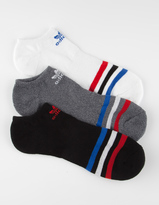adidas 3 Pack Mens No Show Socks