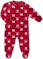 Unbranded Baby Nebraska Cornhuskers Footed Bodysuit