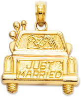 Macy's 14k Gold Charm, Just Married Charm