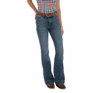 Wrangler Women's Premium Mid-Rise Trouser Jean