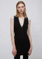 Ports 1961 black vneck sleevless top