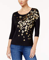 Thalia Sodi Graphic Top, Only at Macy's