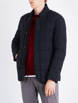 Armani Collezioni Stand-collar quilted shell jacket