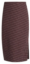 Altuzarra Vic checked pencil skirt