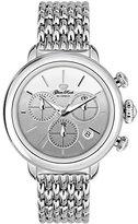 Glam Rock Women's Bal Harbour 40mm Steel Bracelet & Case Swiss Quartz Silver-Tone Dial Watch GR77116N