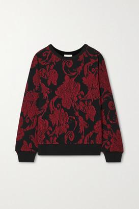 Dries Van Noten Floral-print Cotton-jersey Sweatshirt