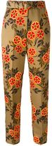 MSGM floral print trousers