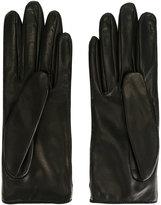 Gucci classic gloves - women - Lamb Skin/Silk - 7